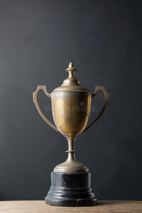 Старый трофей стоковое изображение rf