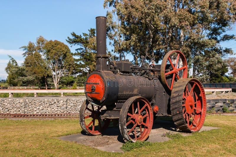 Старый тяговой двигатель пара стоковое изображение rf