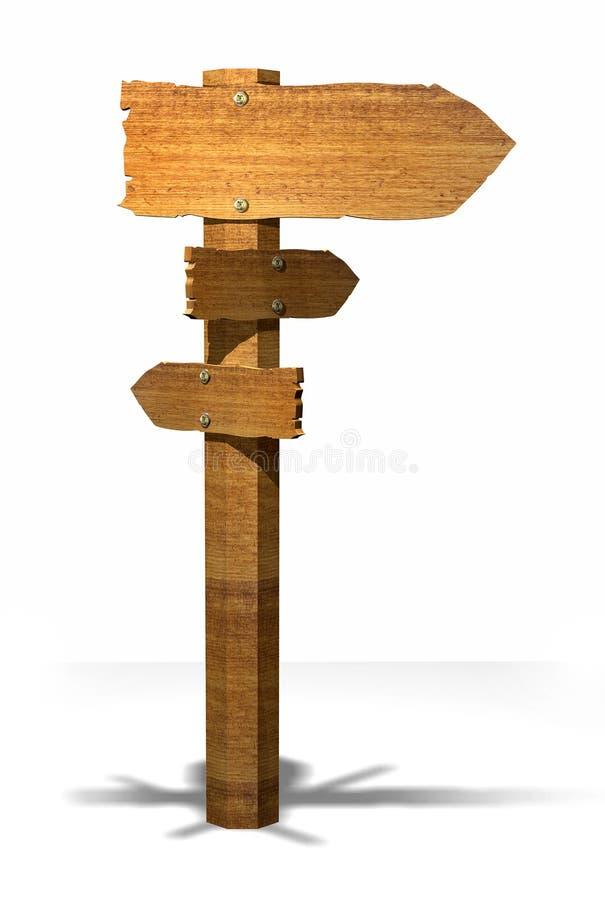 старый указатель деревянный бесплатная иллюстрация