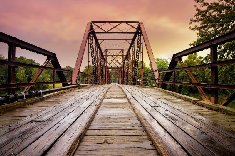 Старый украдите мост стоковая фотография