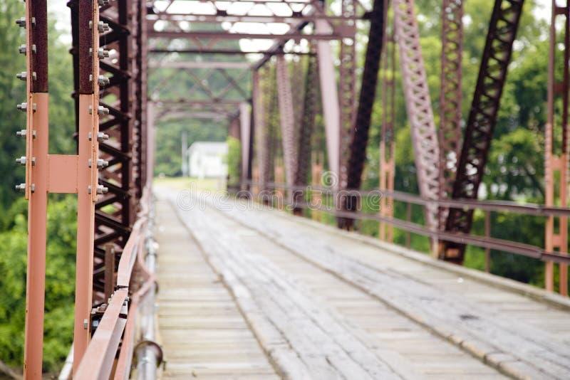 Старый украдите мост стоковые фотографии rf