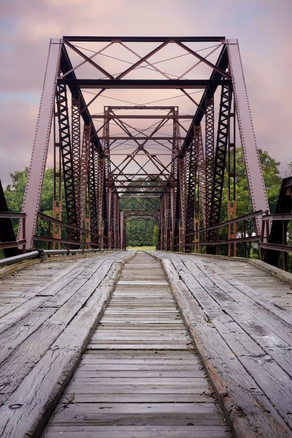 Старый украдите мост стоковые изображения rf