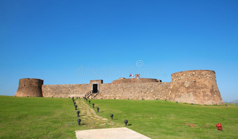Старый форт стоковое фото
