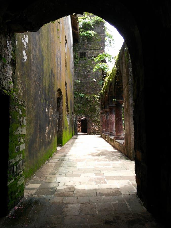 Старый форт стоковое изображение