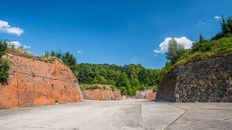 Старый форт Klodzko, Польши стоковое изображение