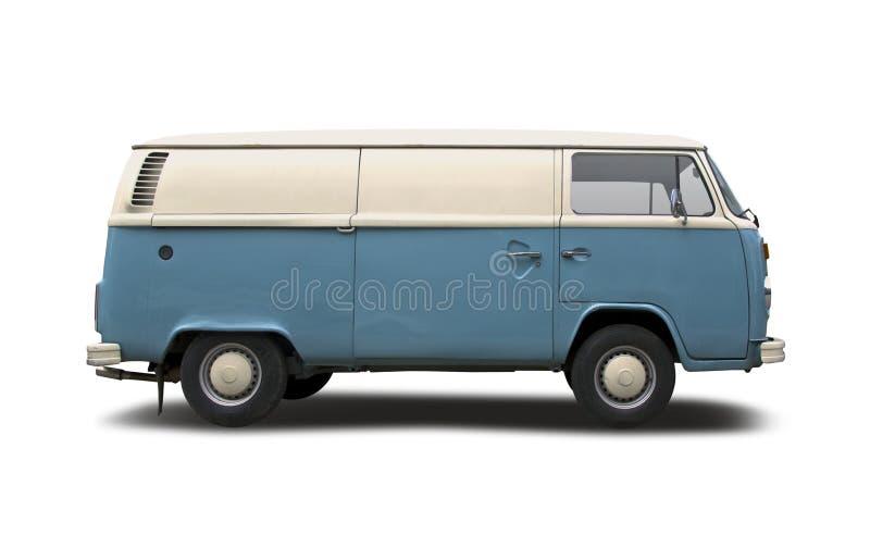 Старый фургон VW стоковые изображения