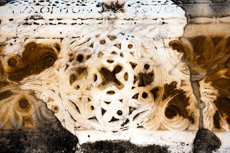 Старый цветочный узор стоковая фотография