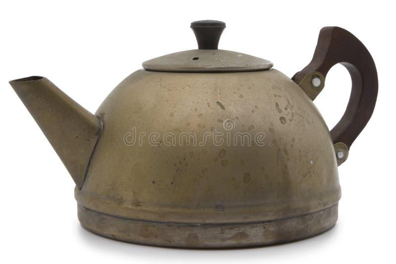 старый чайник стоковые фотографии rf