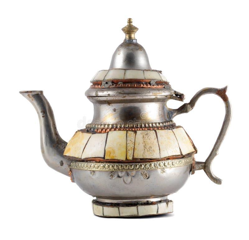 старый чайник стоковое изображение
