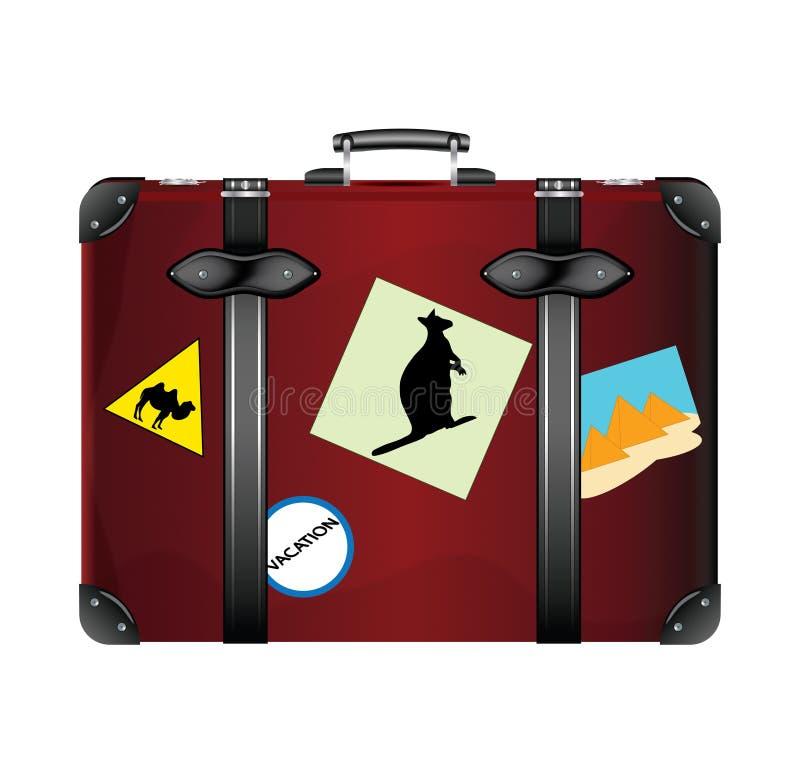 Download старый чемодан иллюстрация штока. иллюстрации насчитывающей пирамидка - 41659278