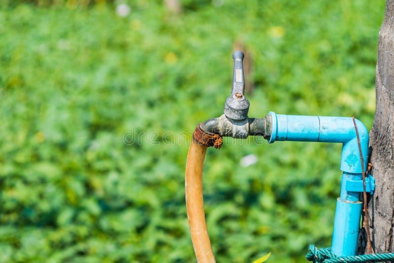 Старый faucet стоковые изображения