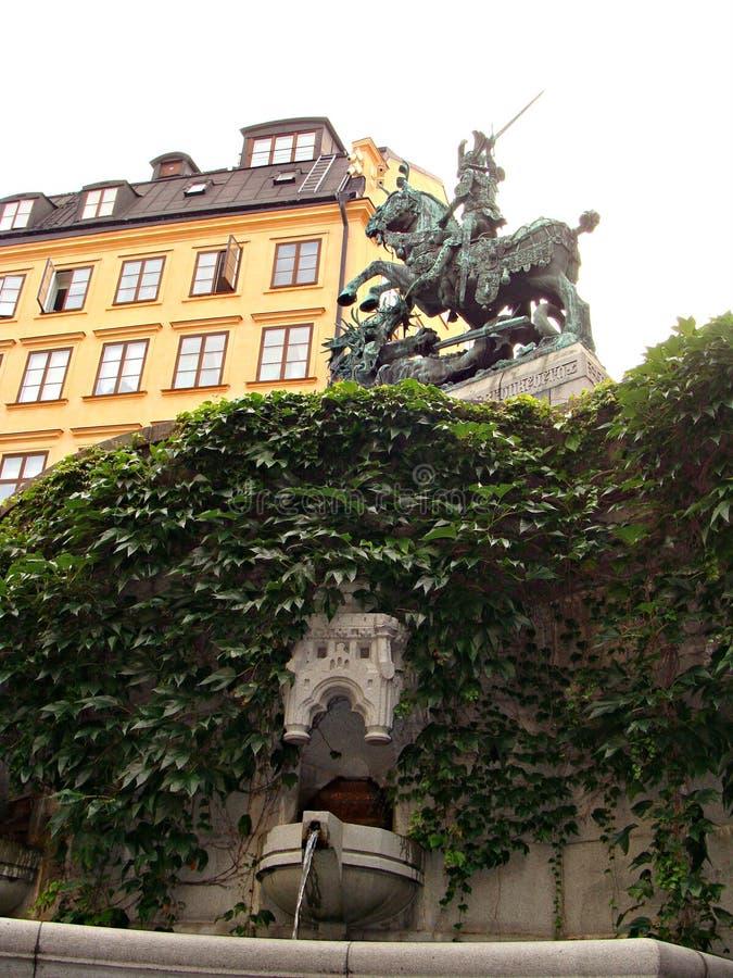 старый stockholm стоковое изображение rf