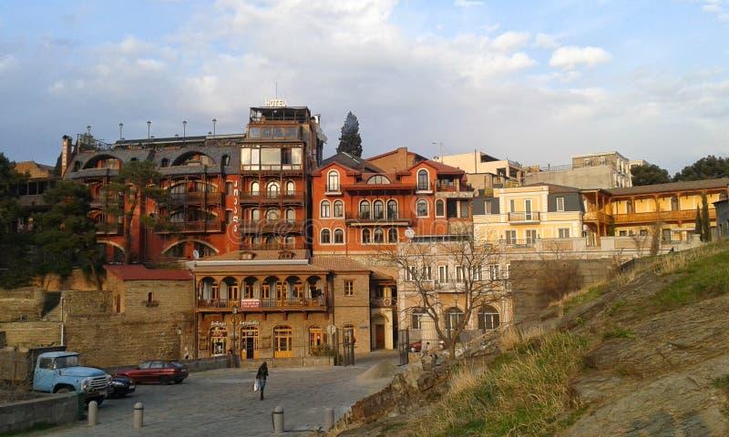 старый tbilisi стоковая фотография rf