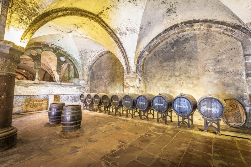 Старый vinery в Eberbach стоковое изображение rf