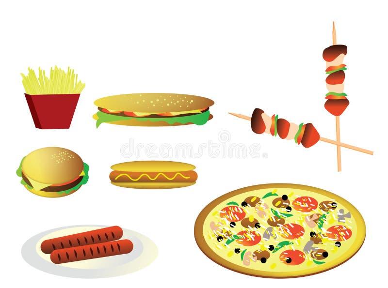 старье иллюстрации быстро-приготовленное питания бесплатная иллюстрация