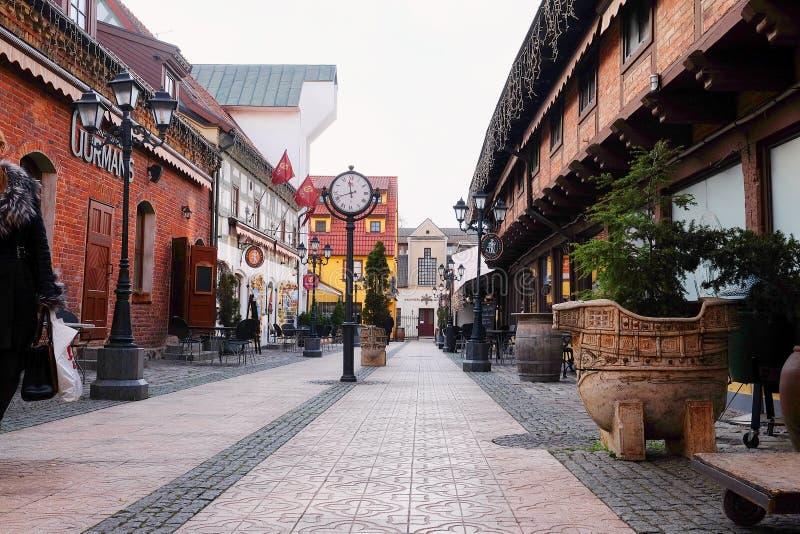 Стар-городок Klaipeda стоковая фотография