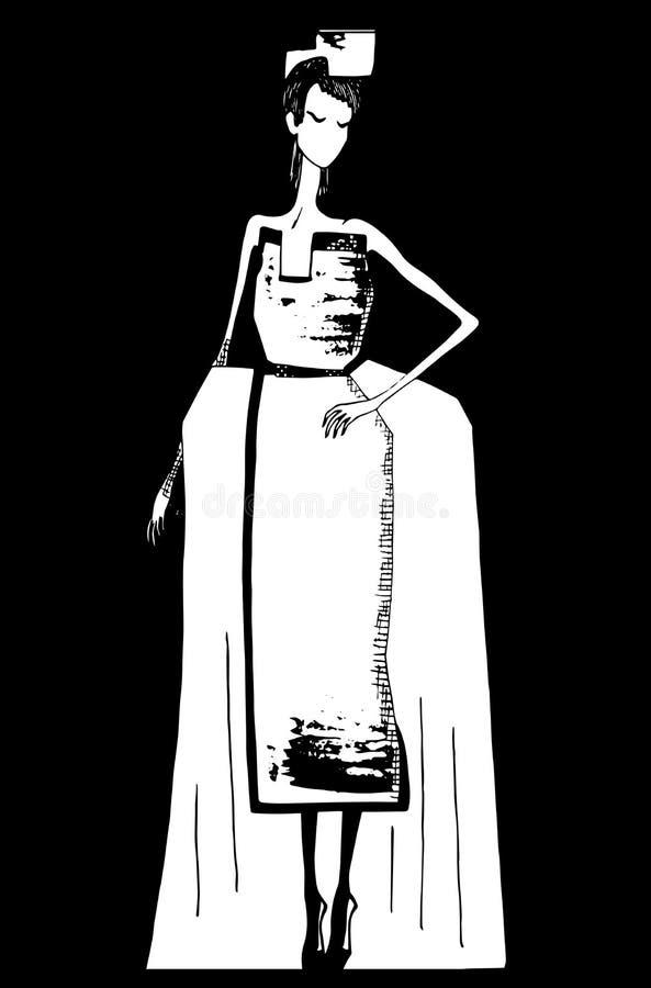 Статическое платье стоковое фото
