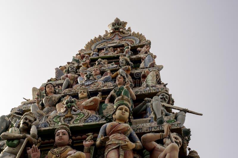Статуи индусского виска стоковые изображения