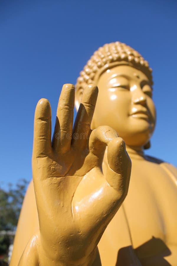 Статуи Amitabha Будды, висок Chen Tien - Foz делает Iguaçu стоковое фото