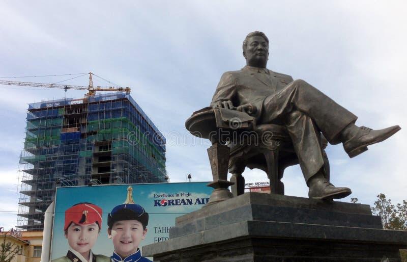 Статуи Ulaanbaatar стоковое фото