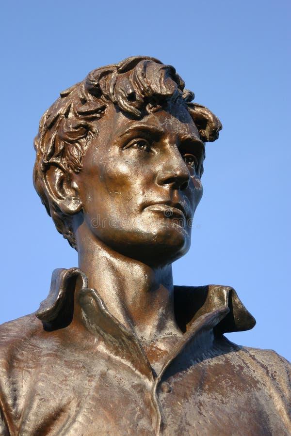 статуя Абраюам Линчолн стоковое изображение