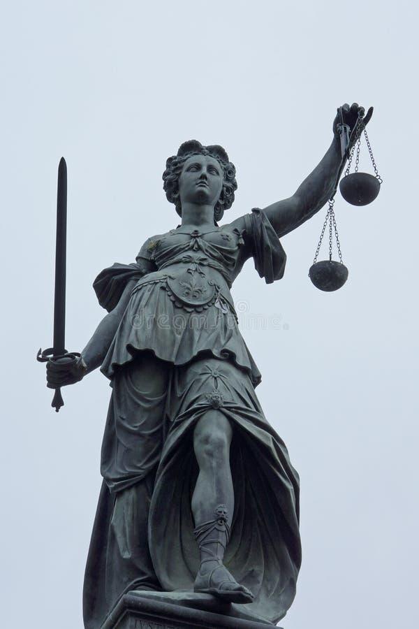 Дама правосудия стоковая фотография rf