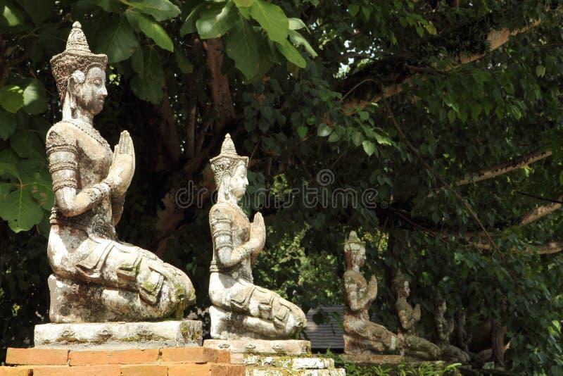 Статуя ангелов стоковое фото rf