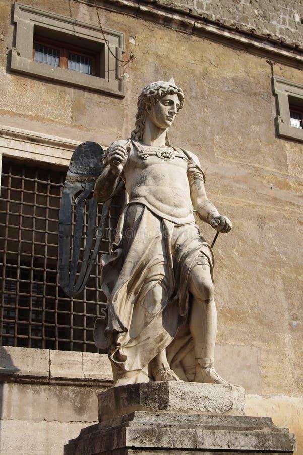 Статуя Анджела стоковое изображение rf