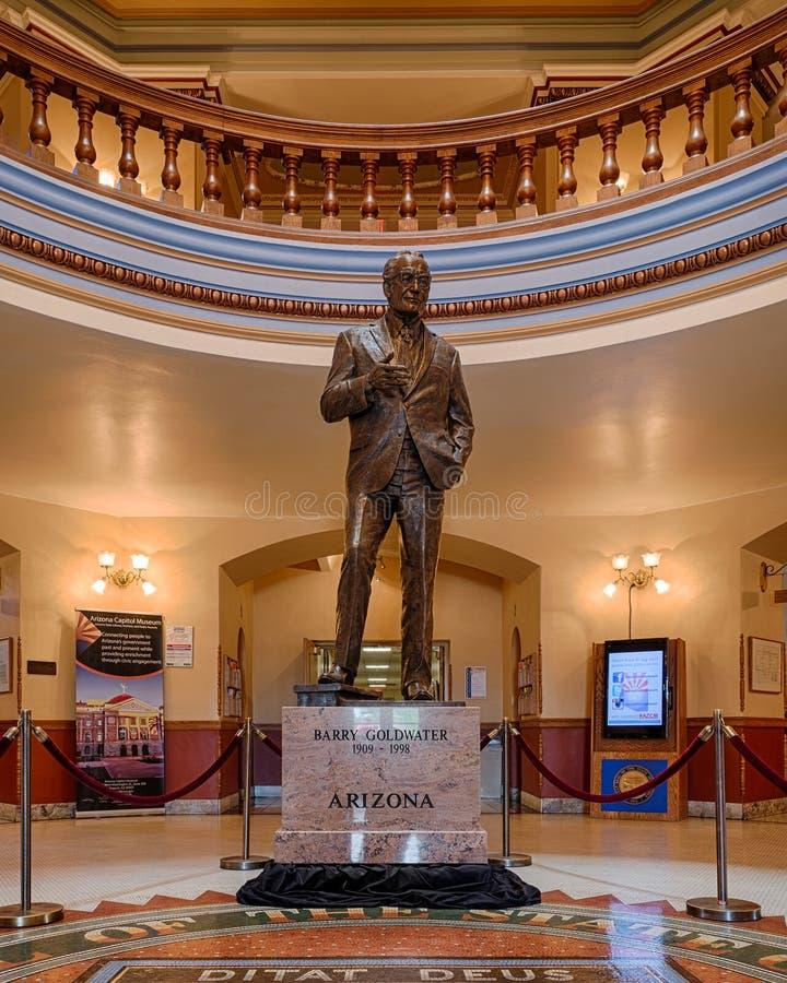 Статуя Барри Goldwater стоковое изображение