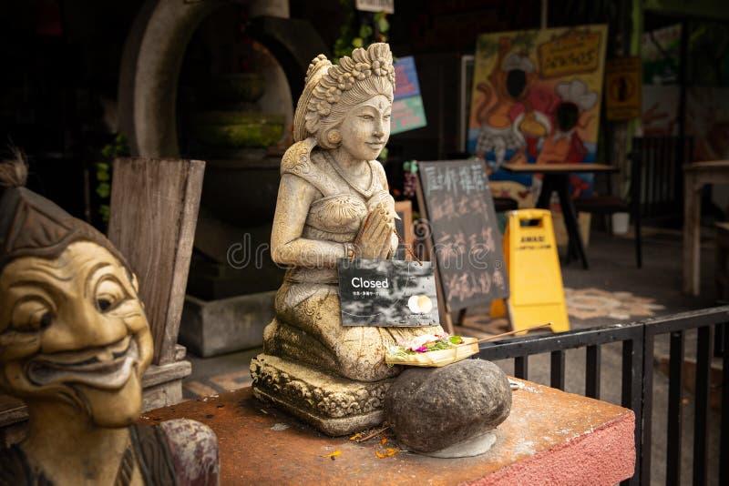 Статуя бога в Бали стоковые изображения
