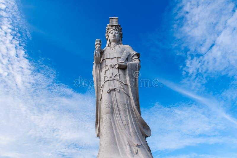 Статуя бога моря, matsu стоковые фото