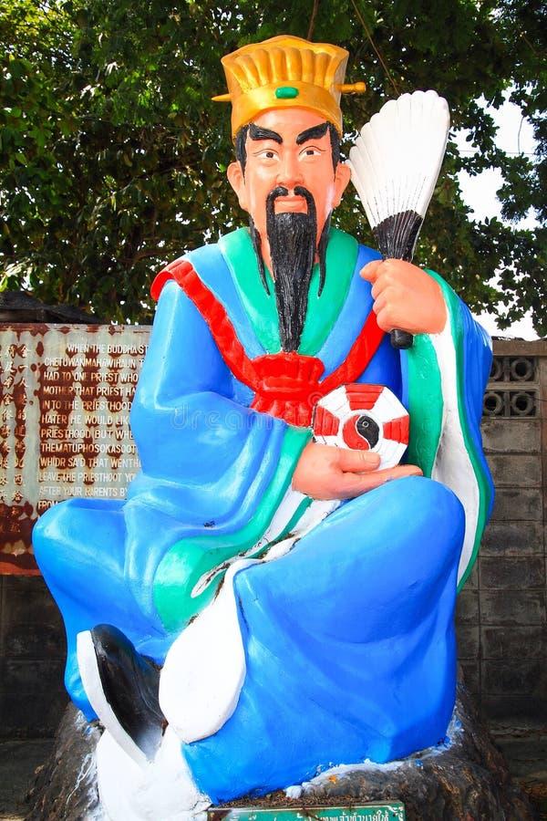 Статуя бога Ju Kua Lieng стоковое изображение rf