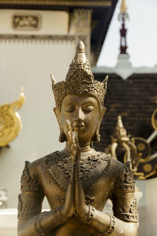 Статуя божества стоковое изображение