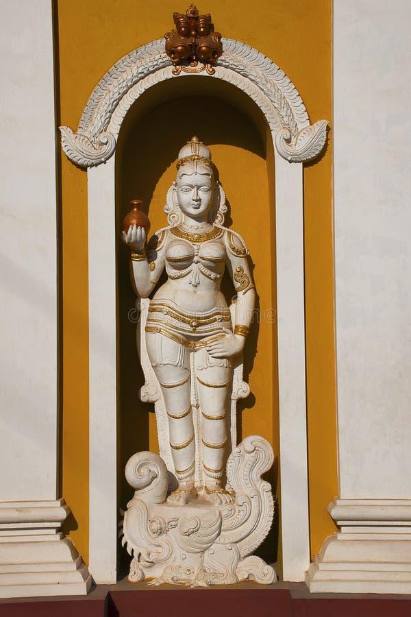 Статуя божества, Dev Vyadeshwar Shri, висок shiva, Guhagar, махарастра Ratnagiri стоковые фотографии rf