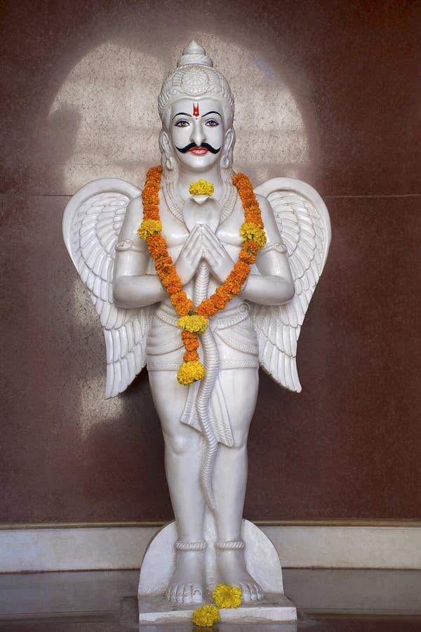 Статуя божества, Dev Vyadeshwar Shri, висок shiva, Guhagar, махарастра Ratnagiri стоковое изображение