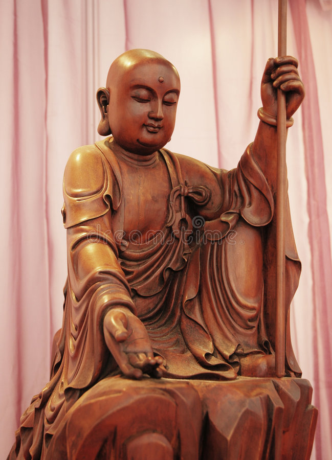 статуя будизма Стоковое фото RF