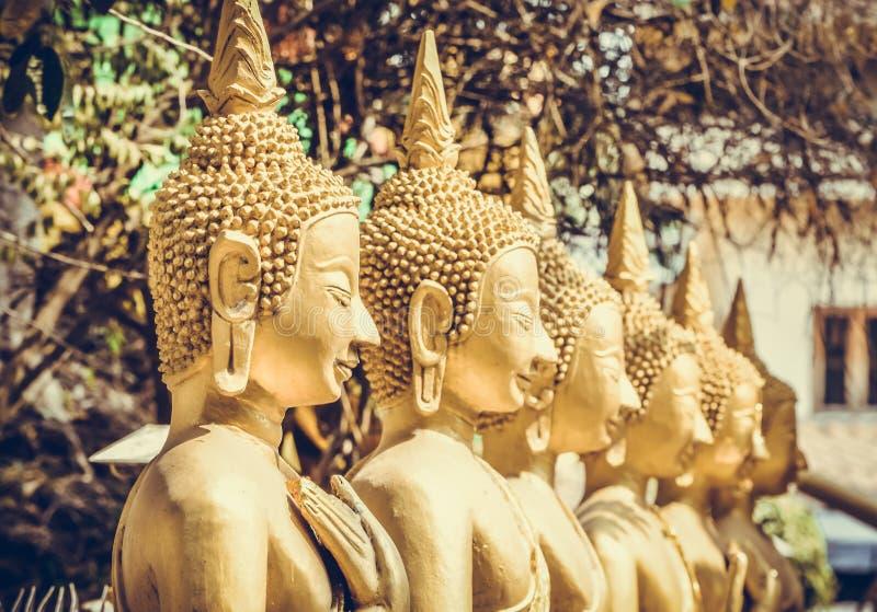 Статуя Будды в Вьентьян, Лаосе стоковое изображение