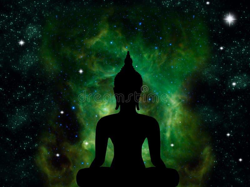 Статуя Будды бесплатная иллюстрация