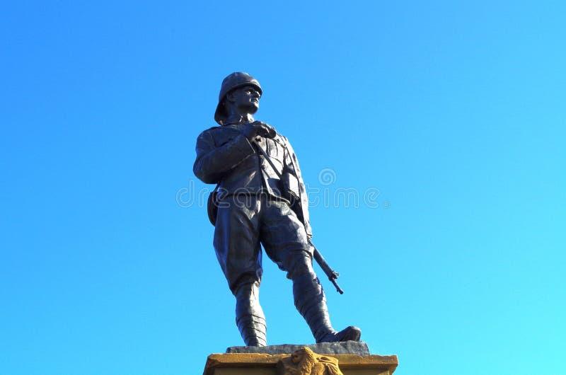 Статуя войны бура стоковые фото