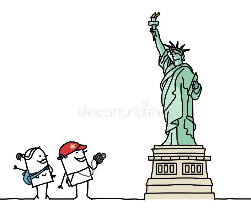 статуя вольности бесплатная иллюстрация