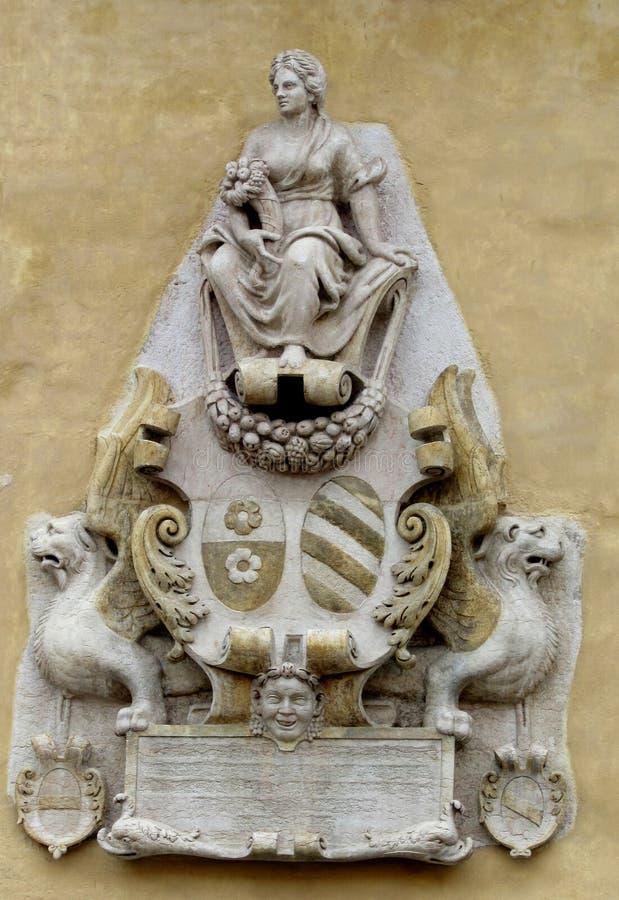 Статуя в сбросе стоковое изображение rf