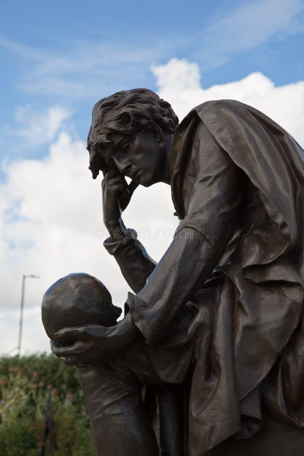 Статуя Гамлет стоковое фото