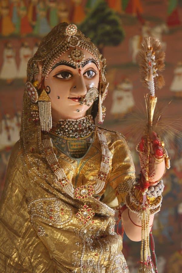 статуя дворца jaisalmer стоковое изображение