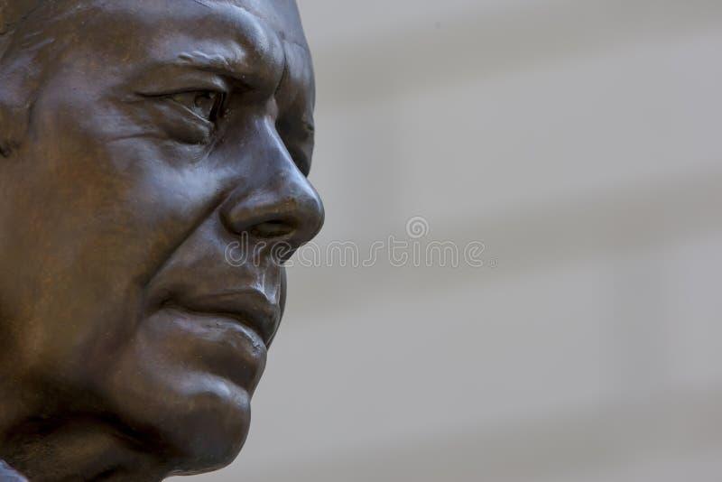 Статуя Джимми Картера стоковое фото
