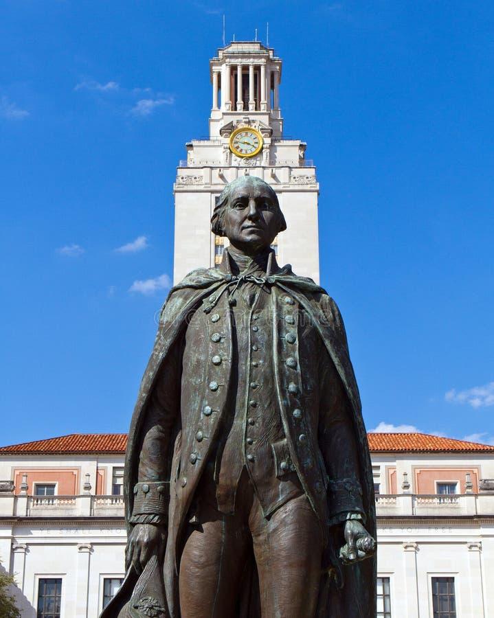 Статуя Джорджа Вашингтона стоковая фотография rf