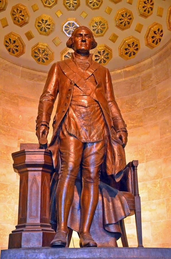 Статуя Джорджа Вашингтона стоковое фото rf