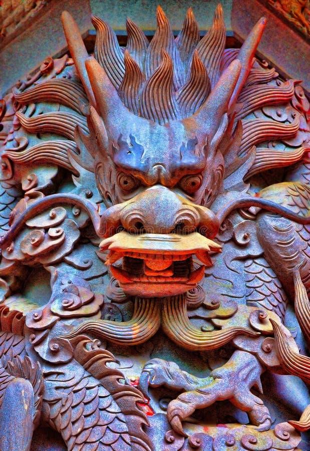 статуя дракона стоковые фотографии rf