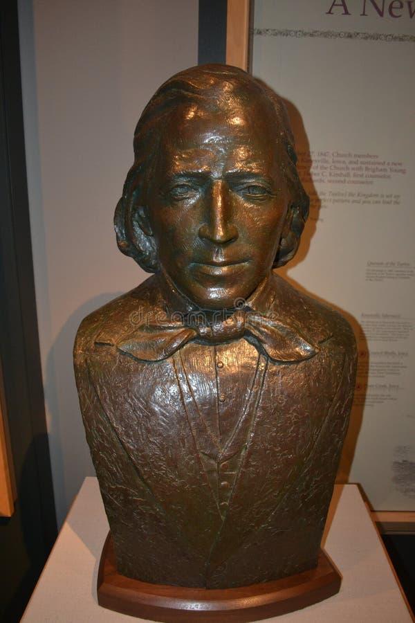 Статуя детенышей Brigam стоковое изображение
