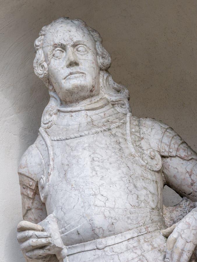 Статуя известного человека стоковое фото rf