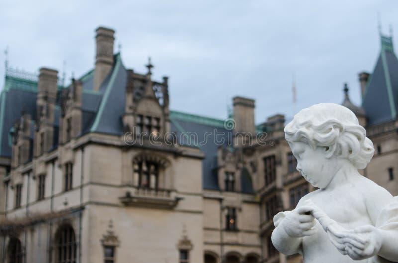 Статуя имущества Biltmore стоковое фото rf
